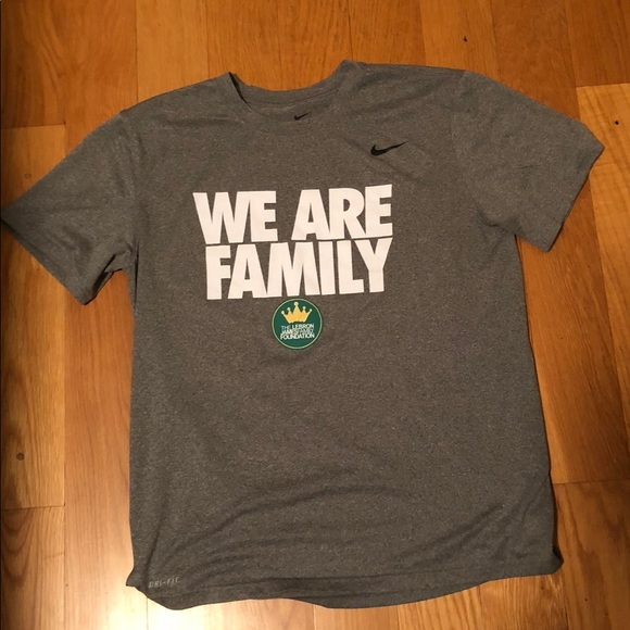 10a13d34f450 Nike Shirts | Lebron James Foundation Dri Fit Sz L | Poshmark